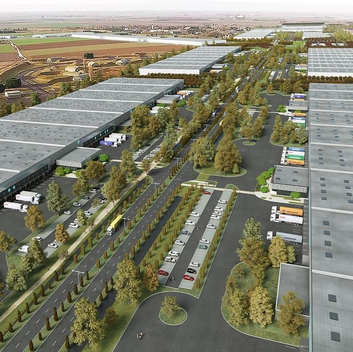 evalley logistics Hub in Hauts-de-France