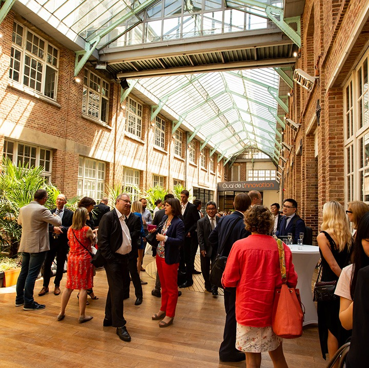 Quai de l'innovation Amiens, Creative Industries Hauts-de-France